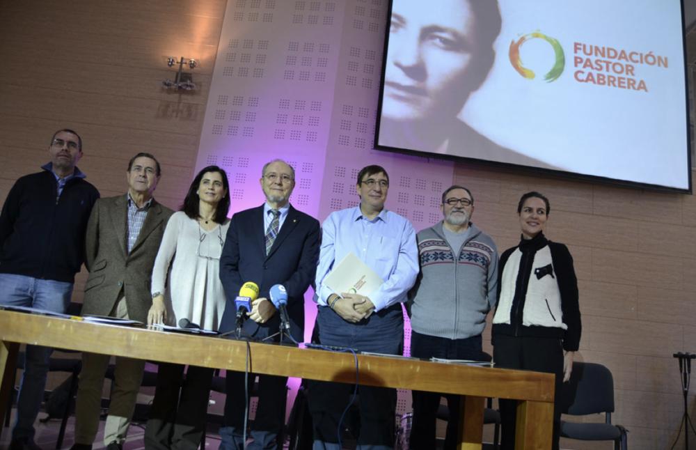 The board of the Pastor Cabrera Foundation