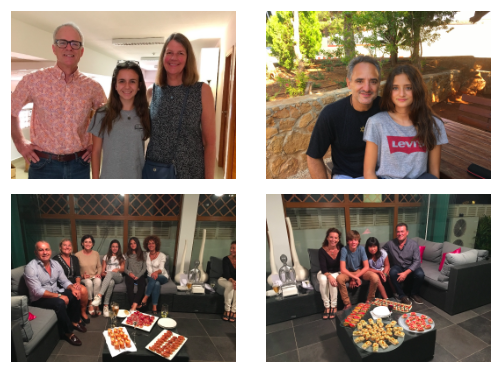 PHOTOS FROM A GET-TOGETHER IN DENIA WITH THE ALFA & OMEGA STUDY ABROAD STUDENTS COMING TO MENLO PARK AND THEIR FAMILIES. SEPT 2017