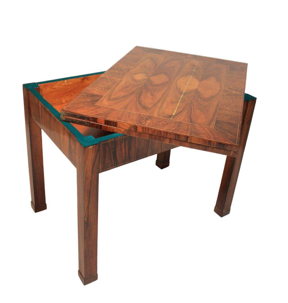 HUNGARIAN BIEDERMEIER GAME TABLE 5
