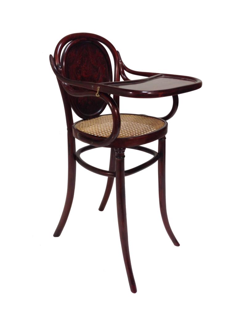 Superb Item# 04 70 Austrian JJ Kohn Bentwood High Chair