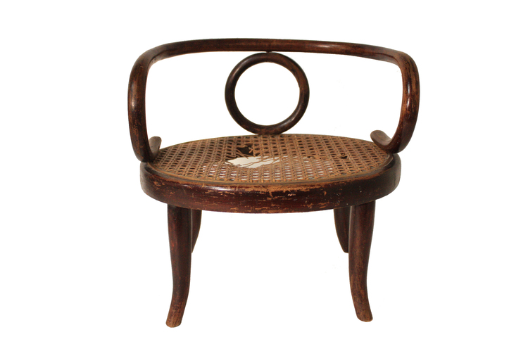 Item# 05 1 Collection Of Austrian Thonet Dolls Chairs