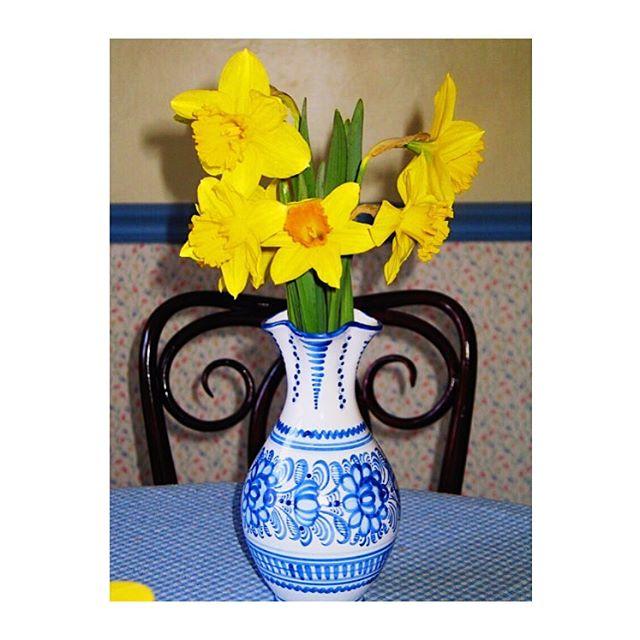 Spring still life. Happy Easter!