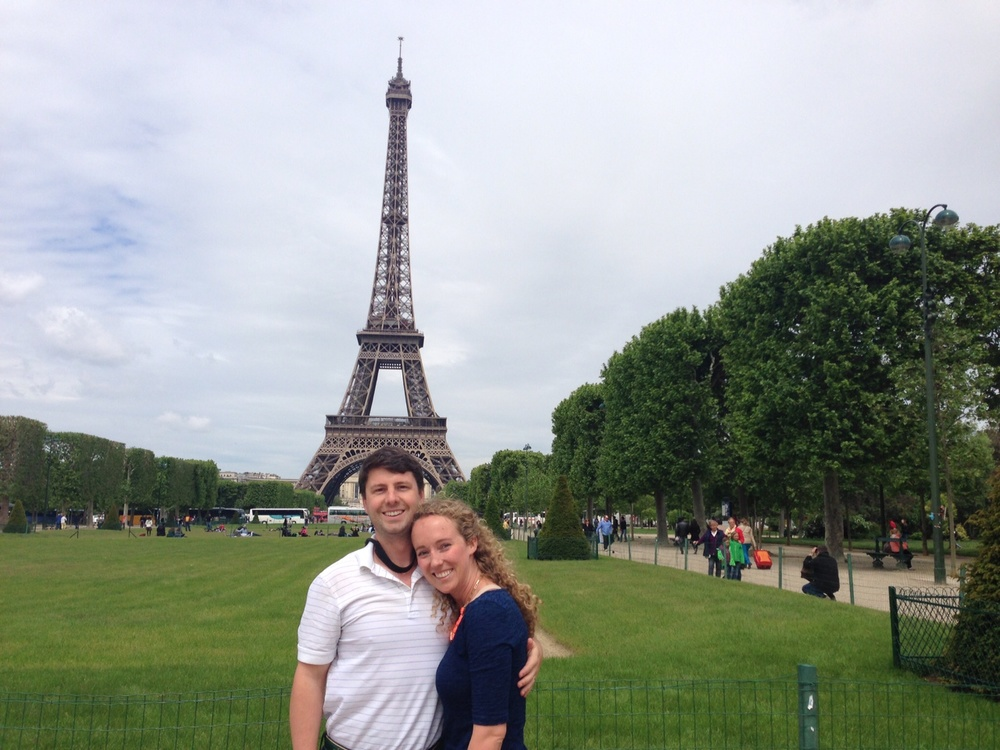 Honeymoon, Paris, France