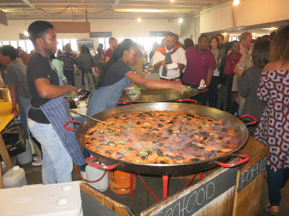 Now that's some Paella!