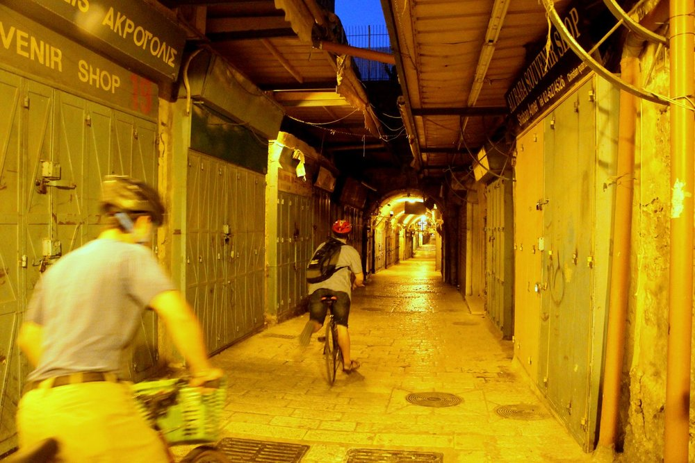 Bike Tour, Jerusalem, Old City, Israel