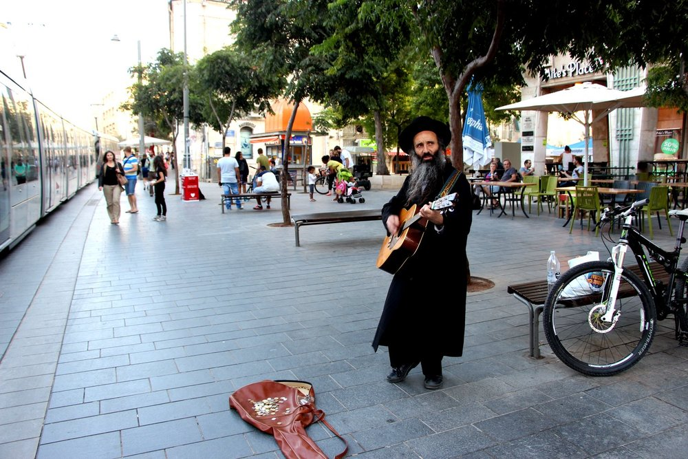 Music Performer, Jerusalem, Old City, Israel