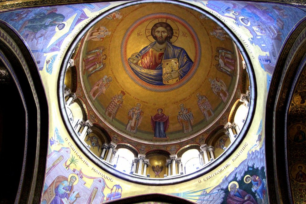 Dome, Church of Holy Sepulchre, Old City, Holy, Jerusalem, Israel