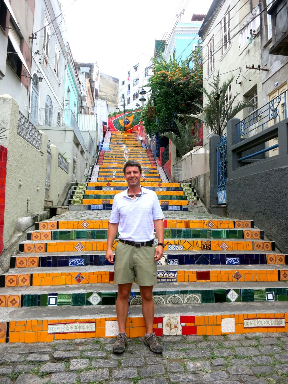 Rio de Janeiro Escadaria Selaron