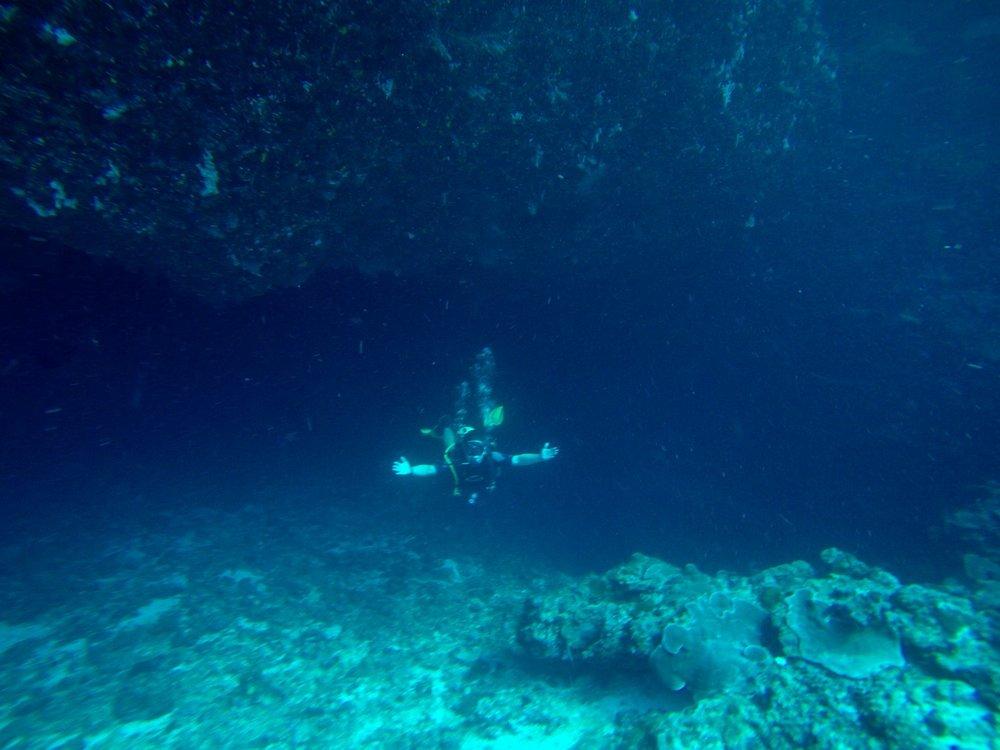 Palau Cave Diving