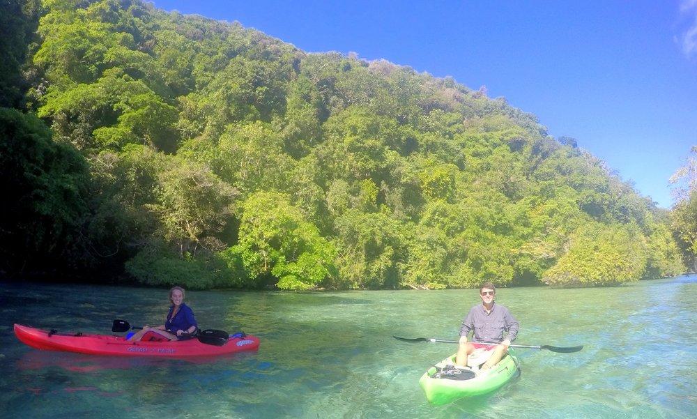 Palau Kayak