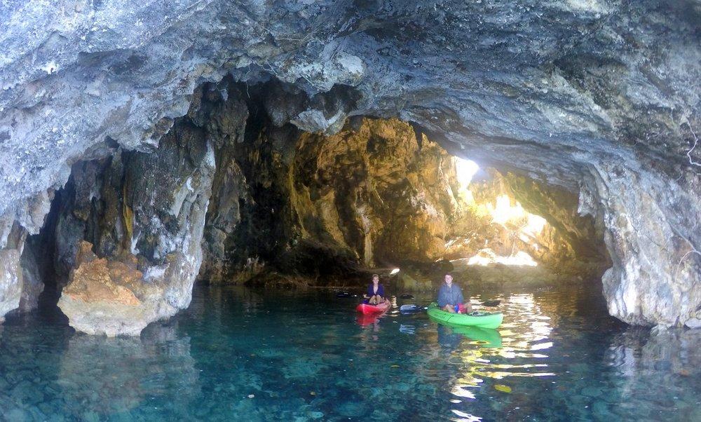 Palau Caves