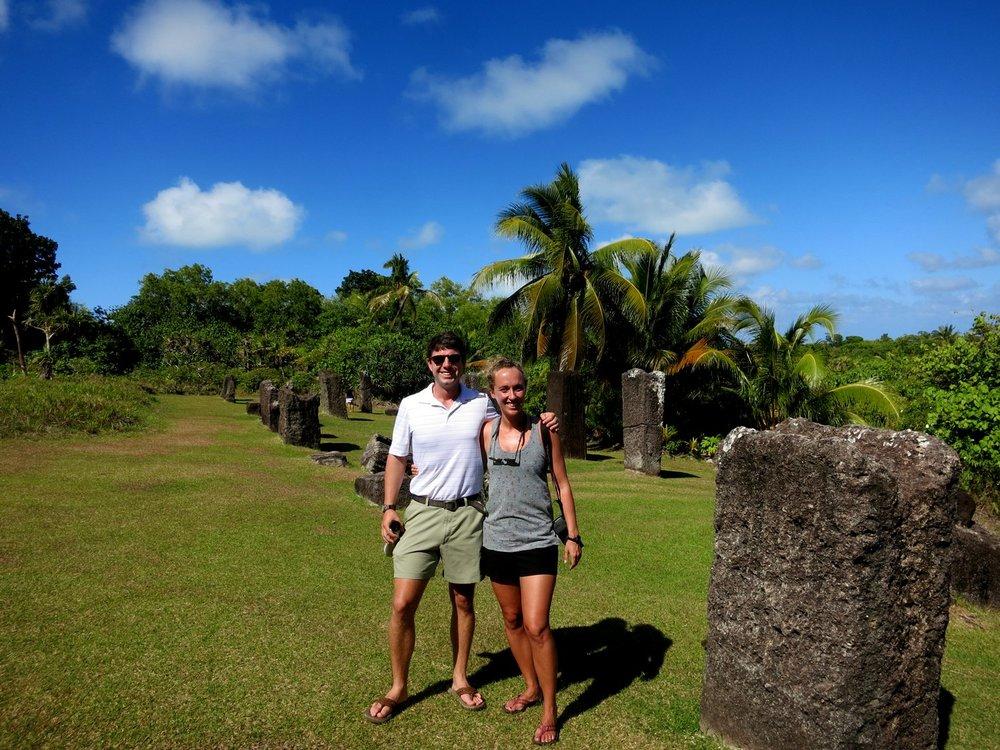 Palau ruins