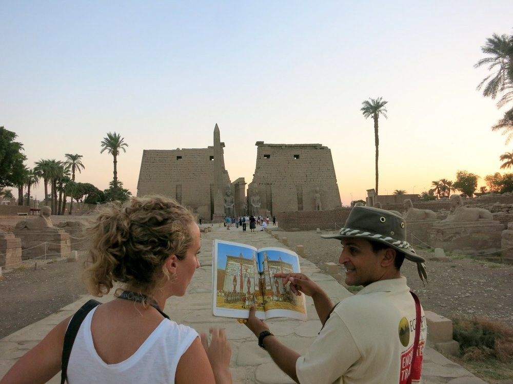 Aboudi and other tour guides brought Egypt alive for us