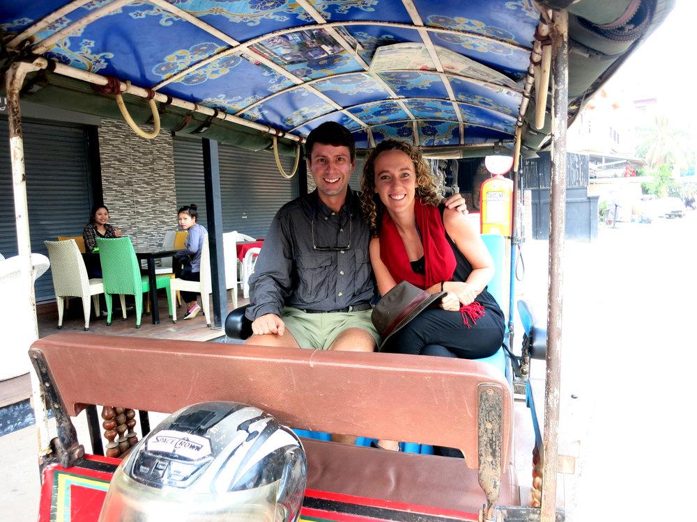 Tuk Tuk Angkor Cambodia