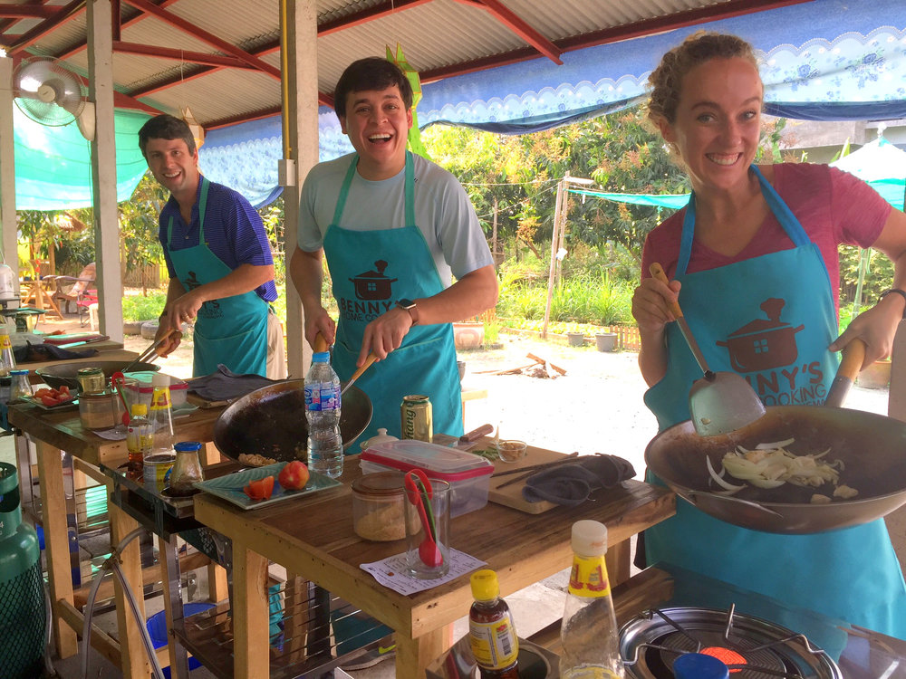 Benny Cooking School Thailand