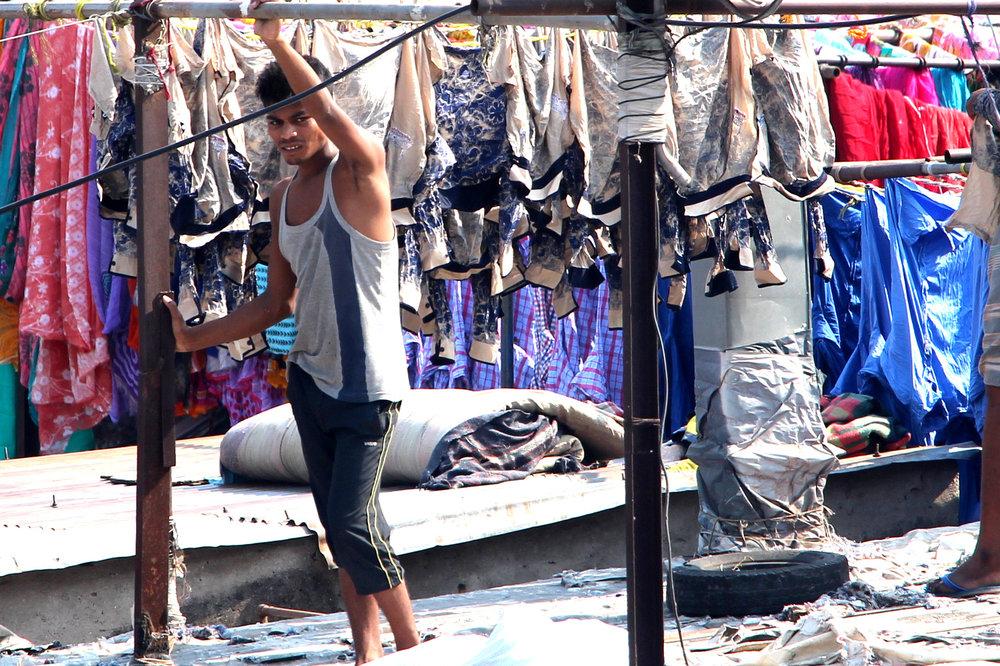 Dhobi Ghat Mumbai Slum