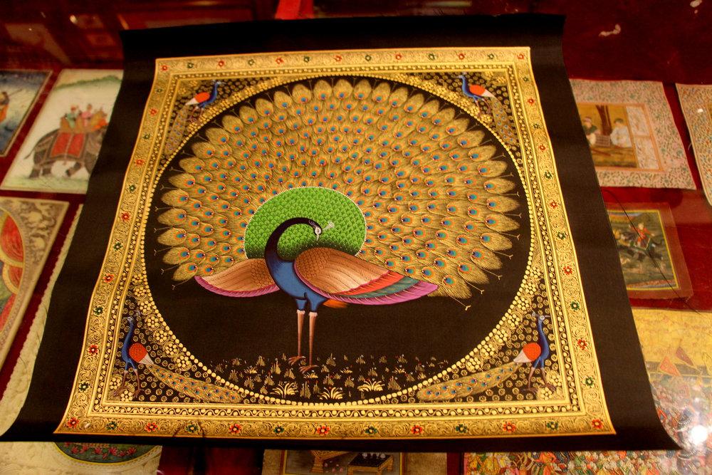 Udaipur Honeymoon minuscule art