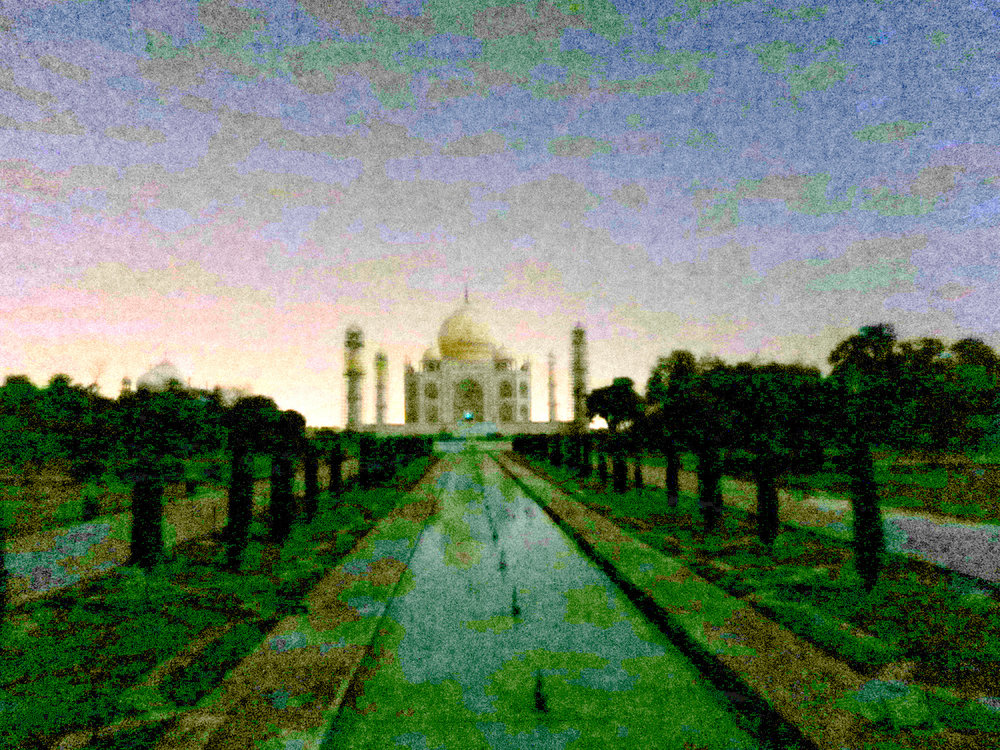 Taj Mahal Moonlight