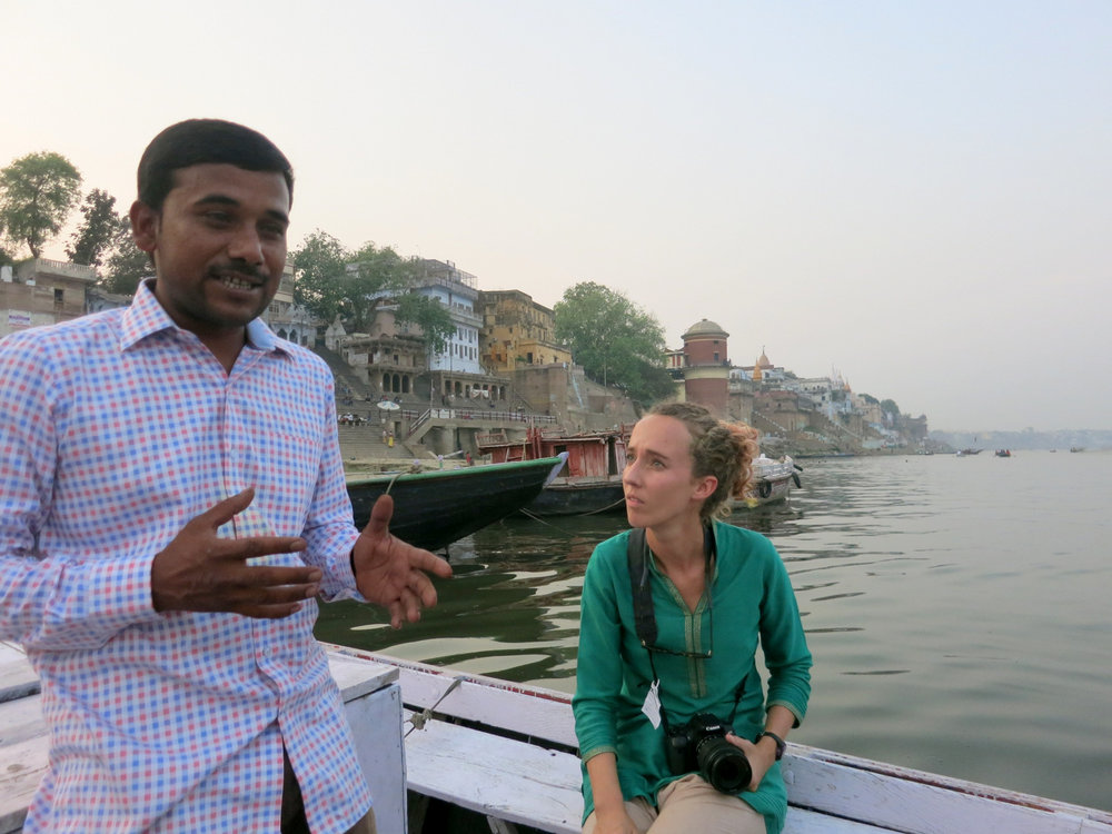 Varanasi Tour river honeymoon