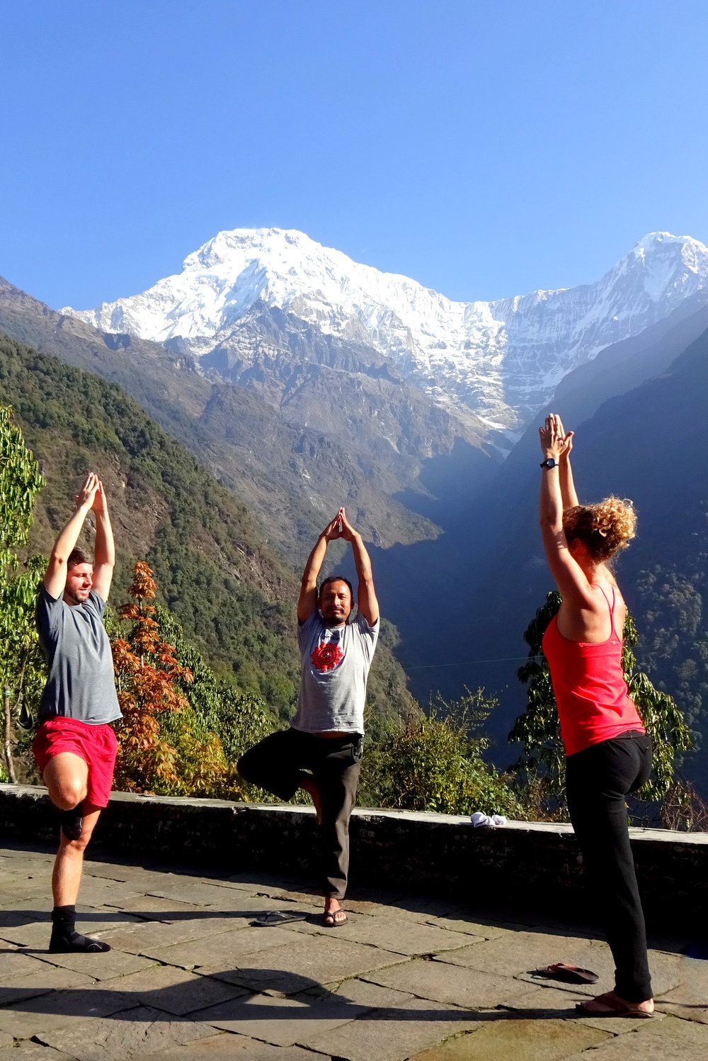 Yoga Nepal Annapurna Base Camp