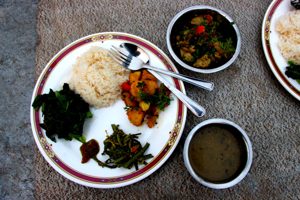 Annapurna Base Camp Food