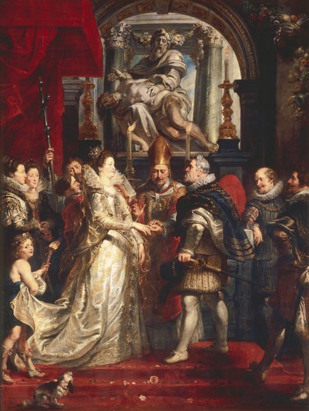 The Wedding by Proxy of Marie De' Medici to King Henry IV