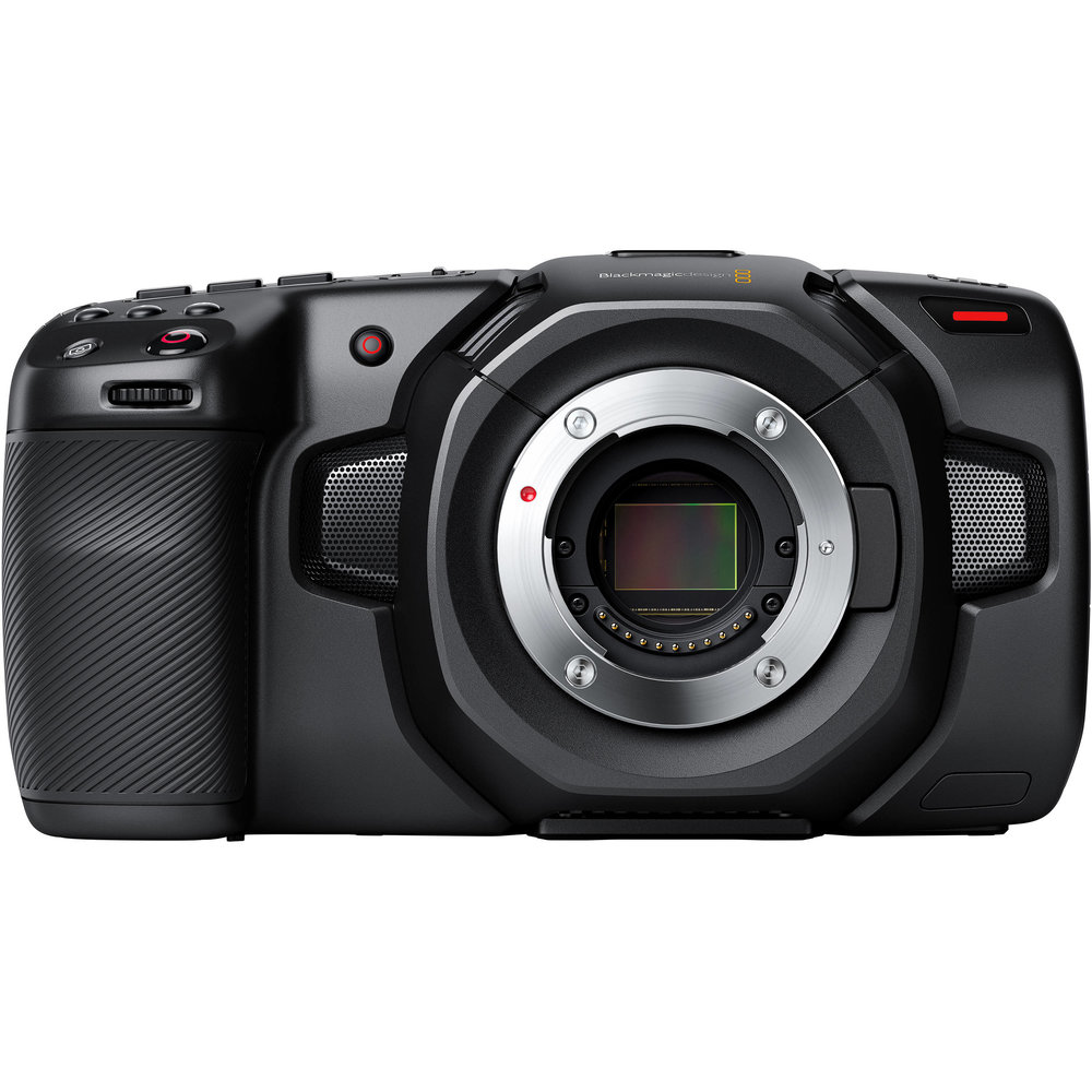 BLACKMAGIC POCKET CINEMA CAMERA 4K    ' our travel video camera - on pre-order '   Record DCI 4K 4096 x 2160 up to 60 fps  Dual Native ISO to 25,600  Record up to 120 fps Windowed HD  13-Stop Dynamic Range