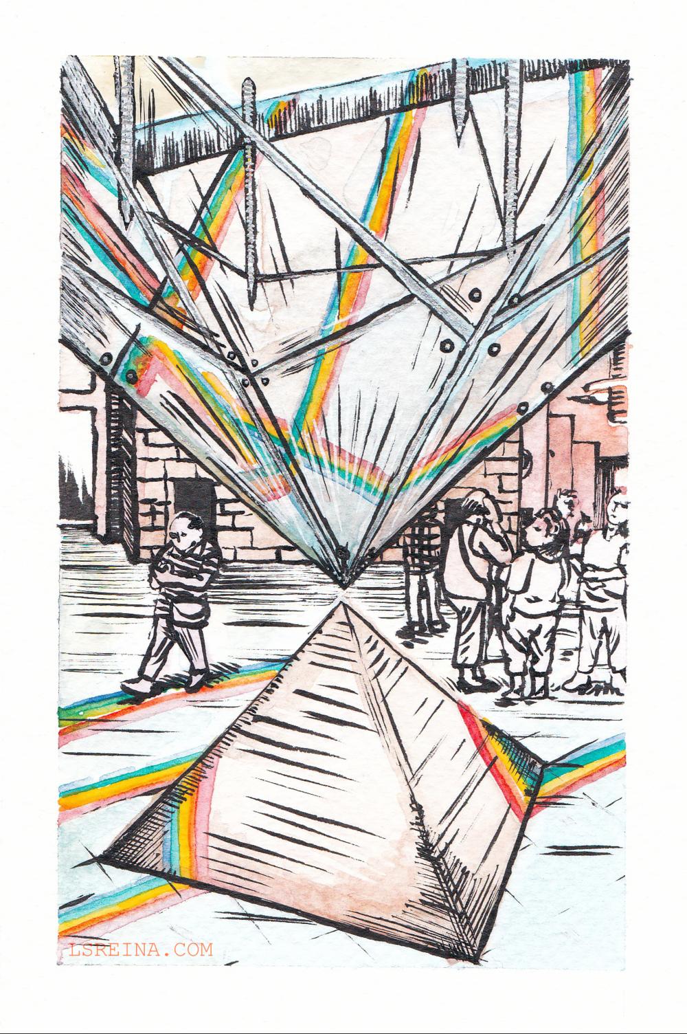 Pyramidial Rainbow (2017)