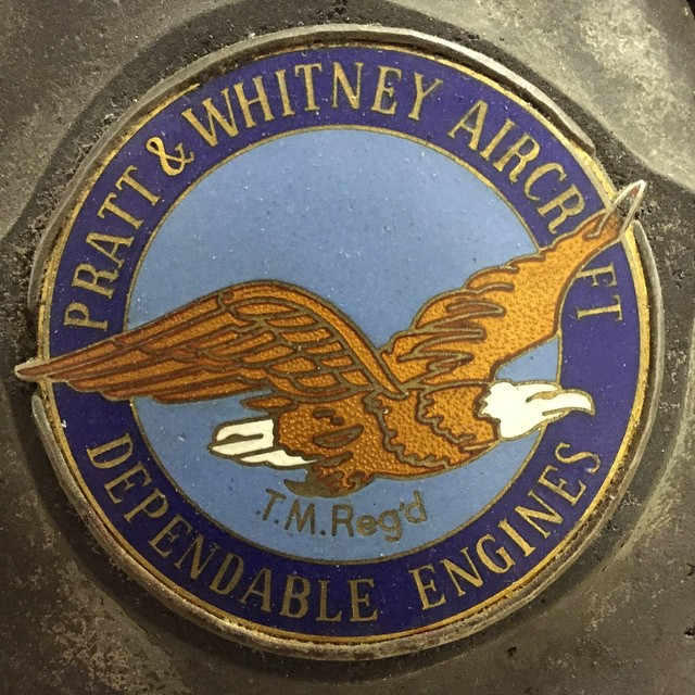 Proud to fly #prattandwhitney engines #agplane #roundengineclub