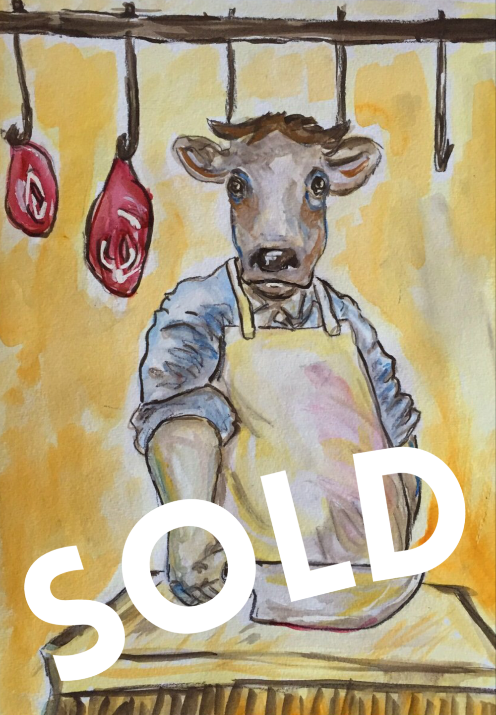 The Butcher - SOLD