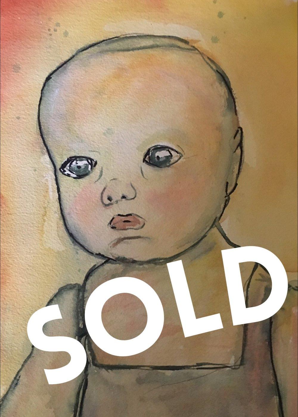 Creepy Baby - SOLD