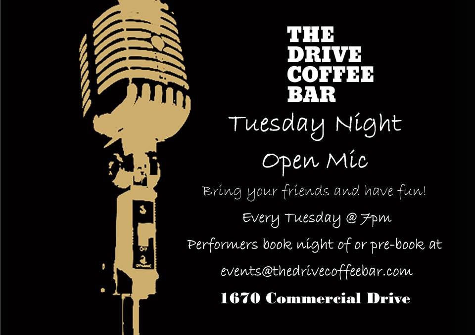 Open Mic Night on The Drive