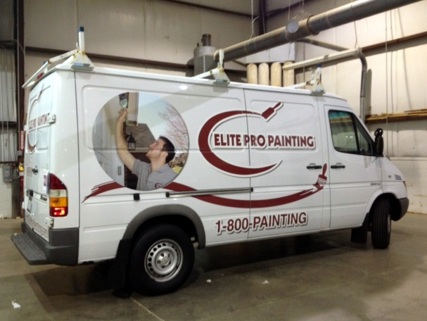 Custom Truck Graphics for Elite Pro Painting
