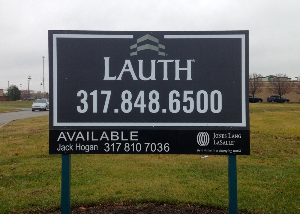 Available Property Sign for Lauth