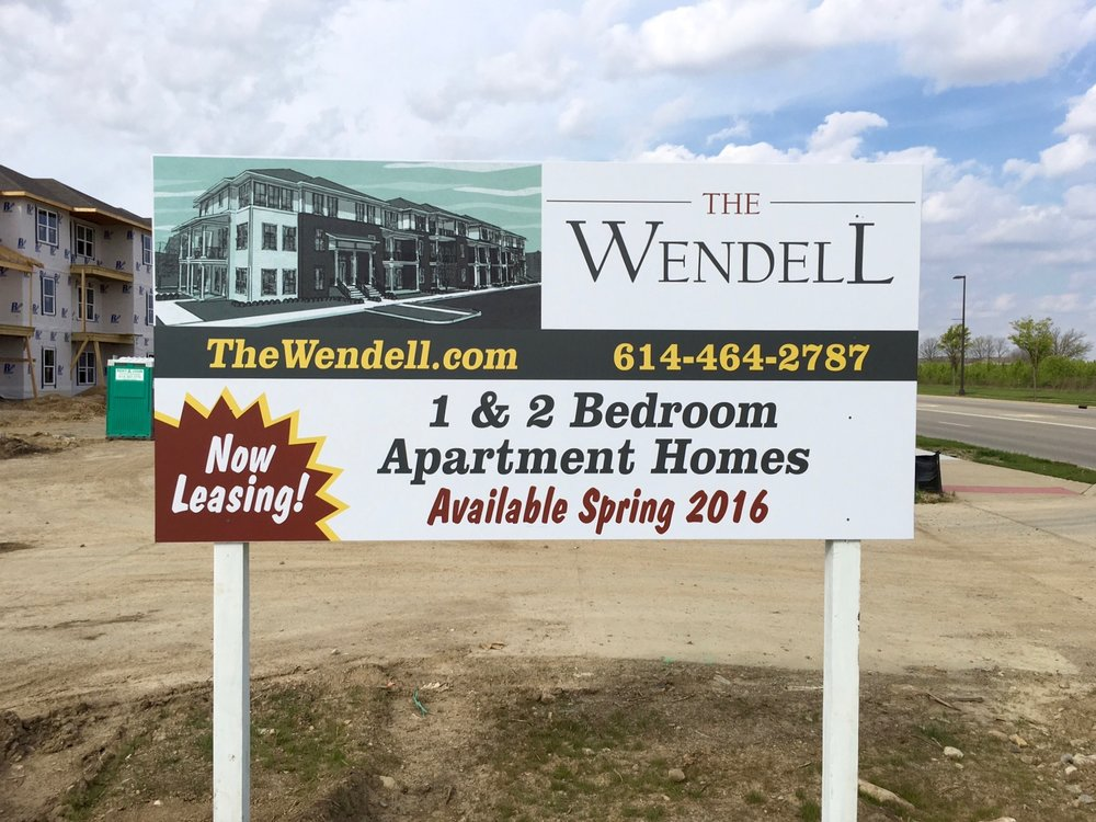 The Wendell Marketing Sign