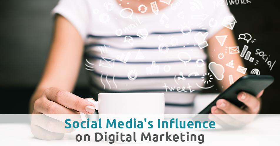 Social Media's Influence on Digital Marketing
