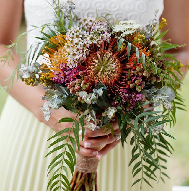 It's so wonderful to receive the professional photos after a wedding. Loving this native bouquet from a wedding we did last season. #weddingflorist #sydneyflorist #nativebouquet #wedding #bouquet #bride #ido #weddinginspiration #weddingflowers #love #nativeflowers #bridalbouquet #sydney #marycontraryfloraldesign #rusticwedding #rustic #whimsical #natural