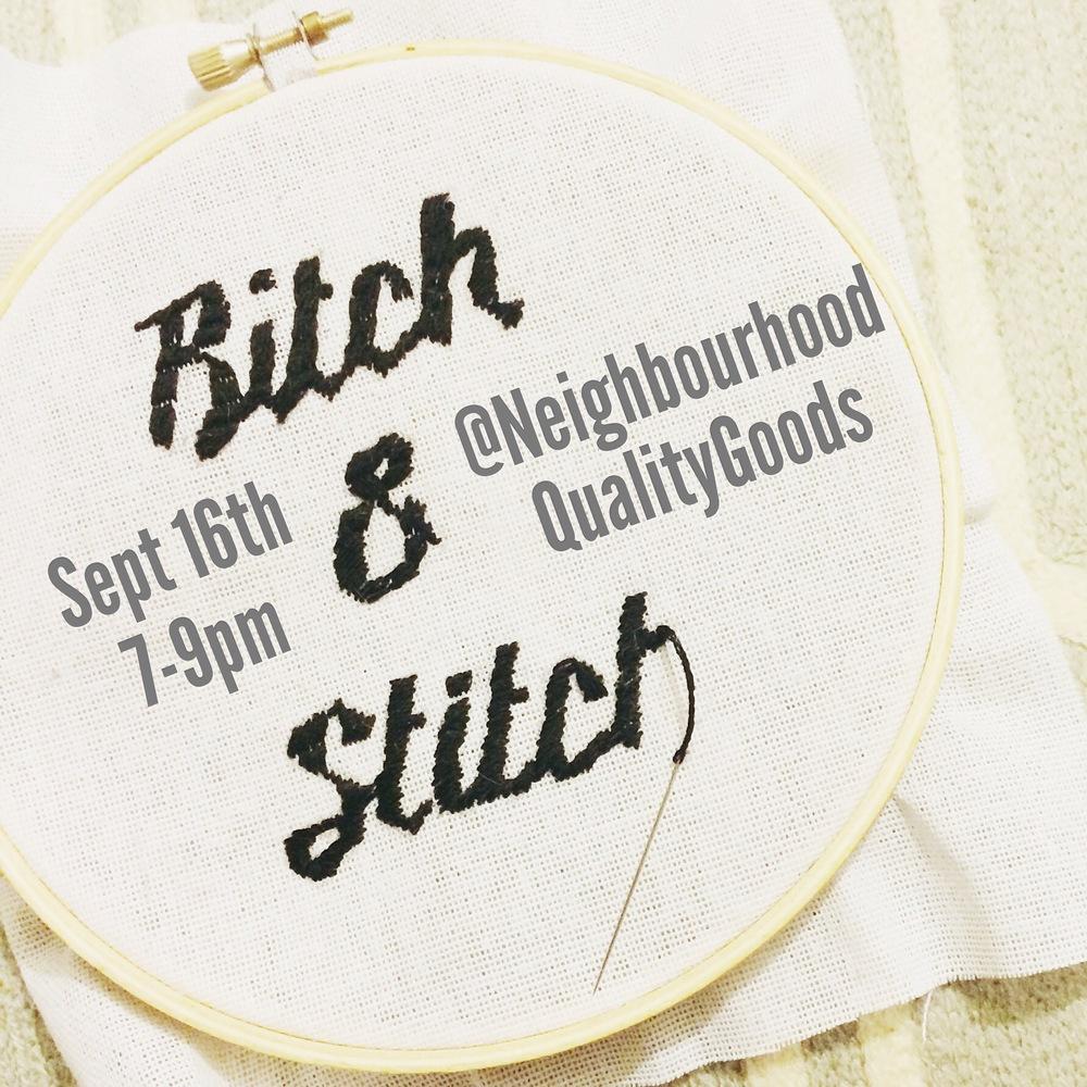 Modern Stitching