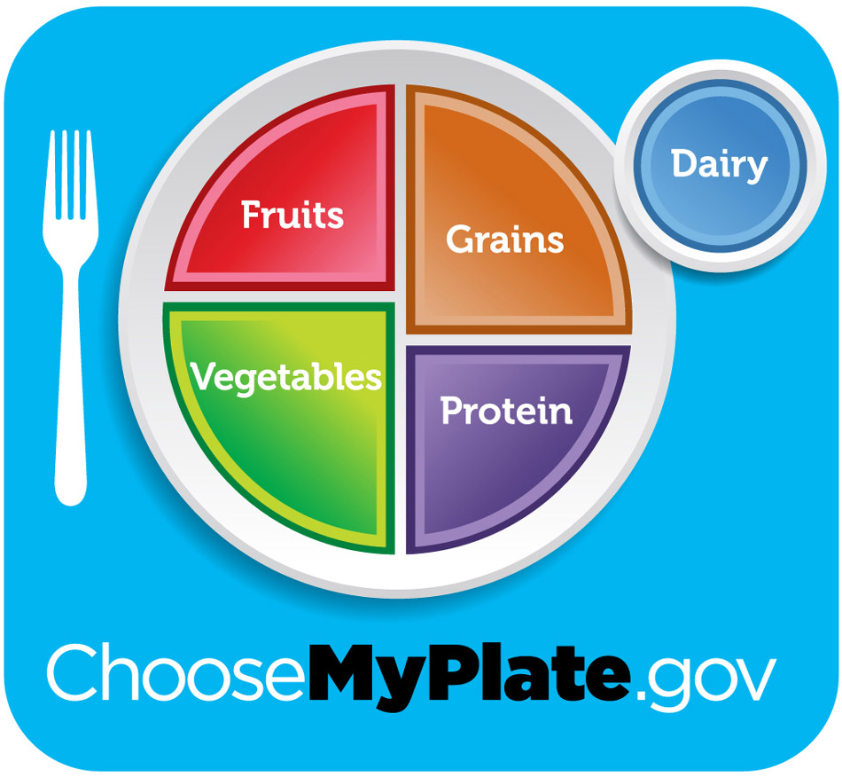 In the US, the USDA's My Plate.