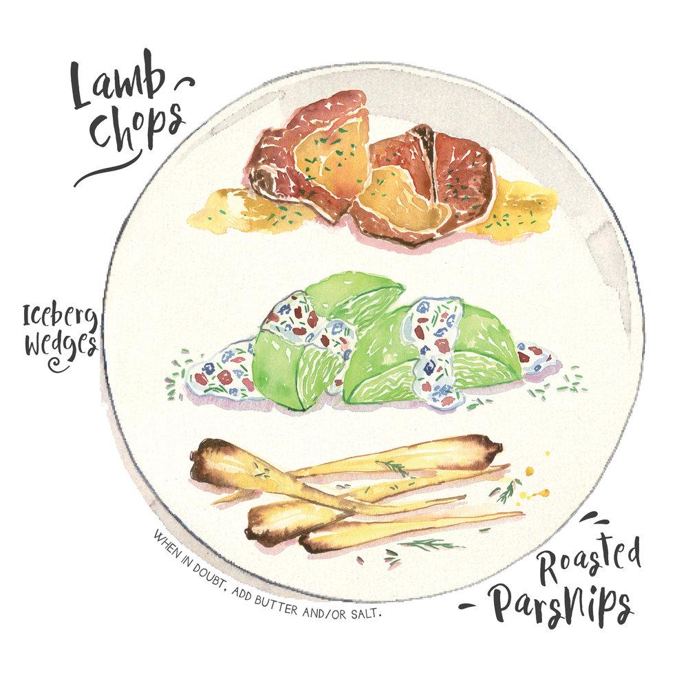 lamb chops iceberg wedge parsnips.jpg