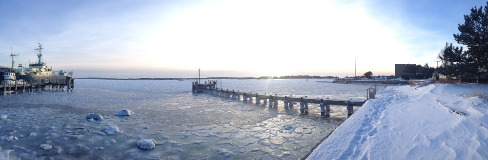 Woods Hole, Winter 2015.