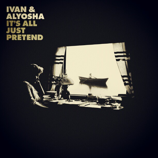 """Our new full length """"It's All Just Pretend"""" is only $6.99 on Amazon right now!   http://amzn.to/1PRYWWb"""