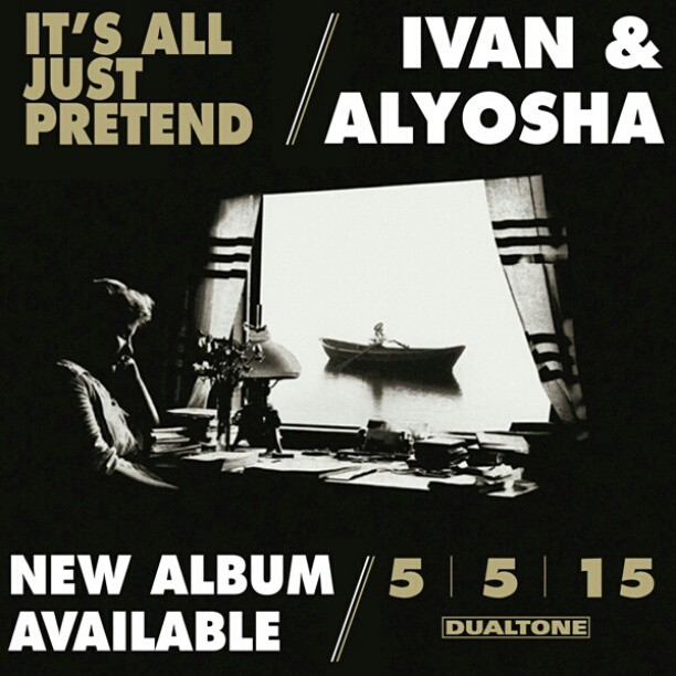 "New Full Length ""It's All Just Pretend"" comes out May 5th!"