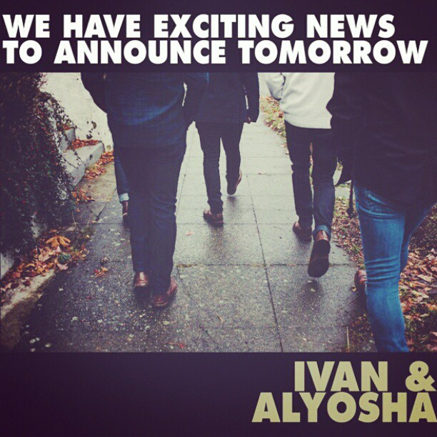 Due to the Seahawks tragic loss last night / (technical difficulties) we are postponing our announcement 24 hours…  Appreciate your patience, see y'all on I&A's Instagram tomorrow at 10 AM PT!    Instagram.com/ivanandalyosha