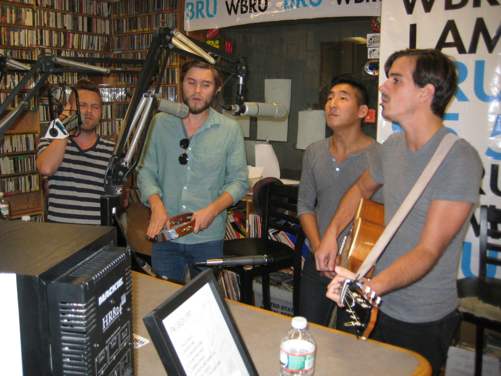 "We had the pleasure of playing in the 95.5 WBRU Studios recently! Check out our live acoustic performances of ""Don't Wanna Die Anymore,"" ""Easy to Love,"" and ""The Fold""  HERE .  Thanks for having us WBRU!"