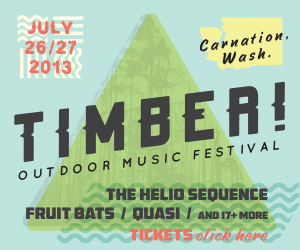 We're playing Timber Outdoor Music Festival in Carnation Washington next weekend!  Details and tickets below, gonna be a great time, the Artist Home Crew knows how to throw a party!     http://blog.artisthomebooking.com/?p=1664      http://www.timbermusicfest.com