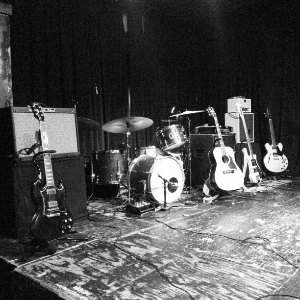 Ready for sound check here at The Prophet Bar in Dallas!