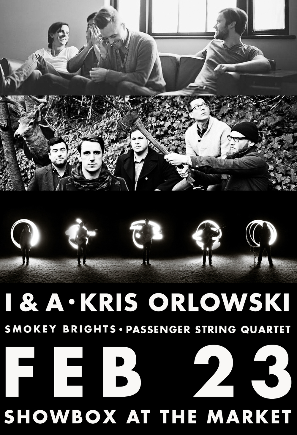 TICKETS GOING FAST FOR FEB 23rd ALBUM RELEASE at Showbox w/ Kris Orlowski / Smokey Brights / & Passenger String Quartet.  Get 'em while you can!    Pre-Sale Link:    http://bit.ly/IvanAlyoshaShowbox     Event Page:    http://www.facebook.com/events/348750561889892/?fref=ts