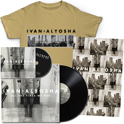 New I&A Merch! T-Shirts, Vinyl / Pre-Sale Bundles up in the I&A Store! Check it out here; http://ivanandalyosha.bigcartel.com/