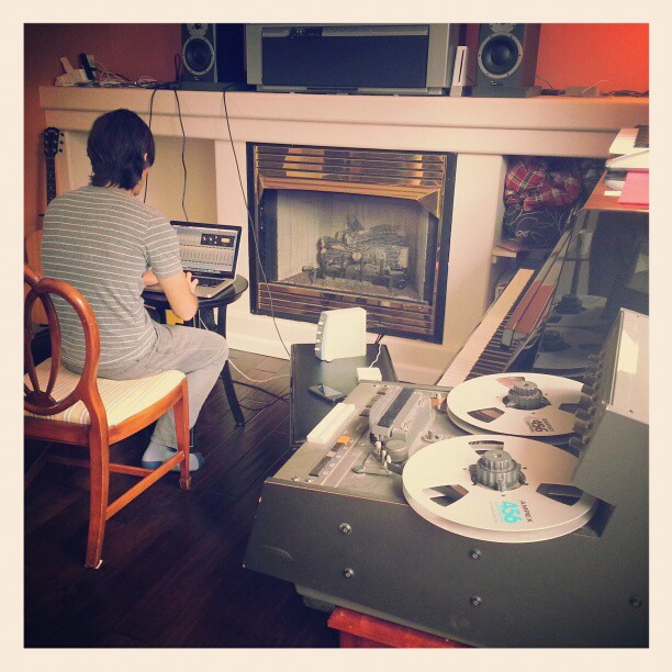 Cozy day to mix some jams!